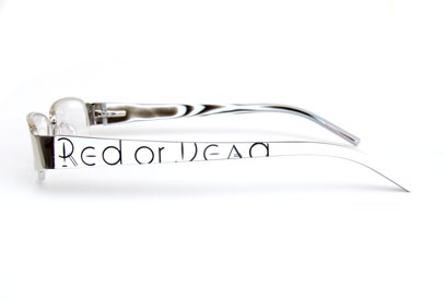 RED OR DEAD 22 glasses